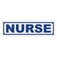Nurse Title Decal