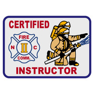 North Carolina Certified Instructor Patch Decal