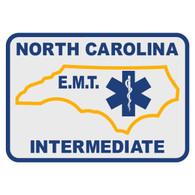 North Carolina EMT Intermediate Decal