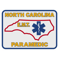 North Carolina Paramedic Decal