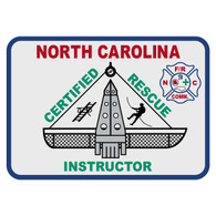 North Carolina Certified Rescue Instructor Patch Decal