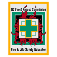 North Carolina Fire & Life Safety Educator Decal