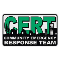 CERT - Community Emergency Response Team Decal