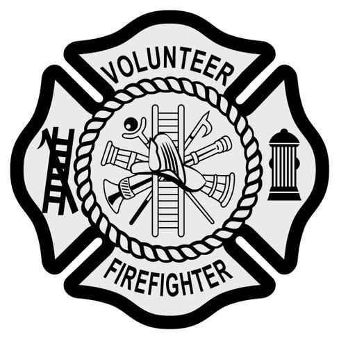 Volunteer Firefighter Emblem Volunteer Firefighter ...