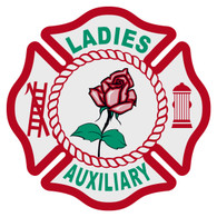 Ladies Auxiliary Maltese Cross Decal