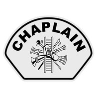 Chaplain with Scramble Helmet Front Decal