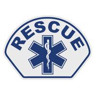Rescue Helmet Front Decal