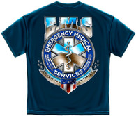 EMS Badge of Honor T-Shirt (FF2094)