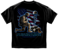 Soldier's Cross In Memory of Our Fallen Heroes T-Shirt (MM105)
