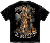 Army Second To None T-Shirt (MM136)