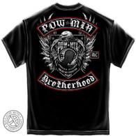 POW - MIA Brotherhood Biker T-Shirt (MM2142)