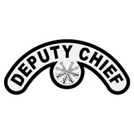 Deputy Chief Extended Helmet Crescent