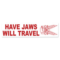Have Jaws Will Travel Bumper Sticker