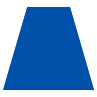 Bright Blue Helmet Tetra Decal