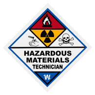 Hazardous Materials Technician Decal