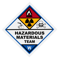 Hazardous Materials Team Decal