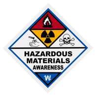 Hazardous Materials Awareness Decal
