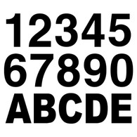 Custom Letters & Numbers