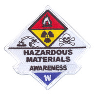 Hazardous Materials Awareness Patch