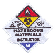 Hazardous Materials Instructor Patch