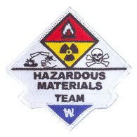 Hazardous Materials Team Patch