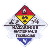 Hazardous Materials Technician Patch