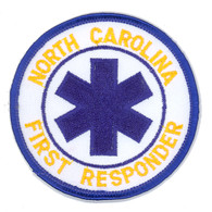 North Carolina First Responder Patch