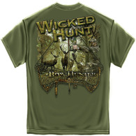Wicked Hunt Bow Hunter T-Shirt