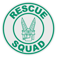 Round Rescue Squad (Jaws of Life) Decal