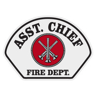 Full Color Asst. Chief Helmet Front