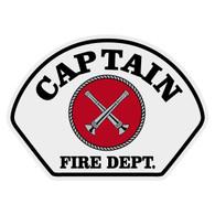 Full Color Captain w/ Crossed Bugles Helmet Front