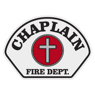 Full Color Chaplain Helmet Front