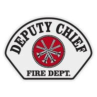 Full Color Deputy Chief Helmet Front