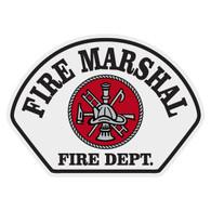 Full Color Fire Marshal Helmet Front