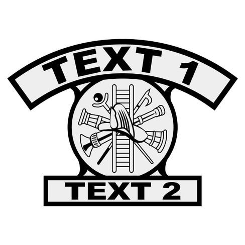Custom Shield Rocker Crest Frontal On Interior Design License Texas ...