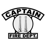 Captain Shield Rocker Crest Frontal