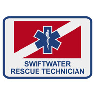 Swiftwater Rescue Technician Patch Decal