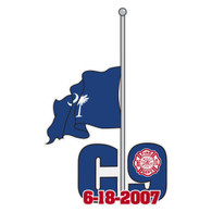 Charleston 9 Car Decal