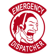 Emergency Dispatcher Female Decal