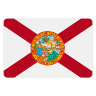 Florida Flag Reflective Decal