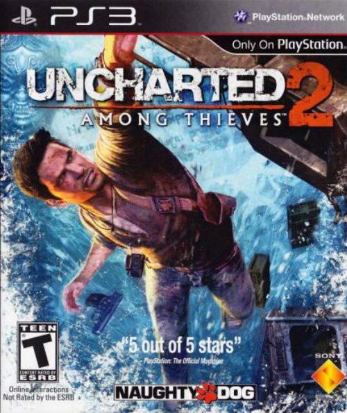 2 Uncharted Among Thieves (PS3)