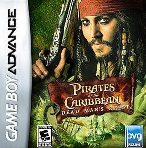 Dead Mans Chest Pirates of (Game Boy Advance)