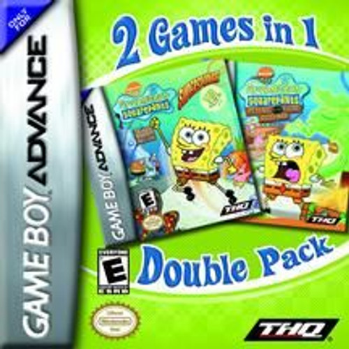 2-Game SpongeBob (Game Boy Advance)