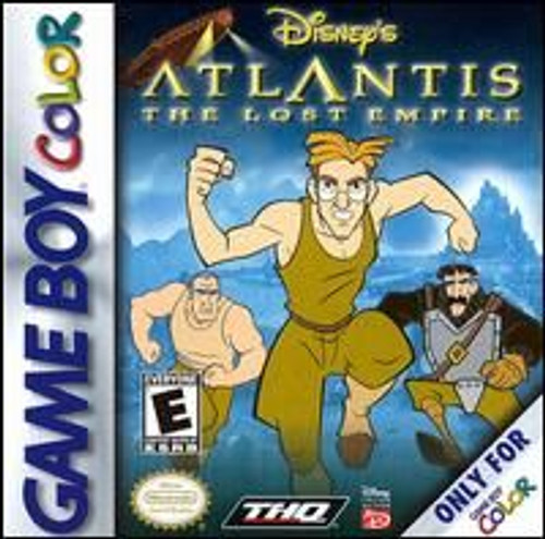 Atlantis Disney The Lost (Game Boy Color)