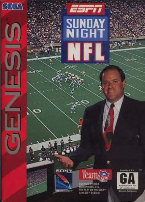 ESPN Sunday Night NFL (Genesis)
