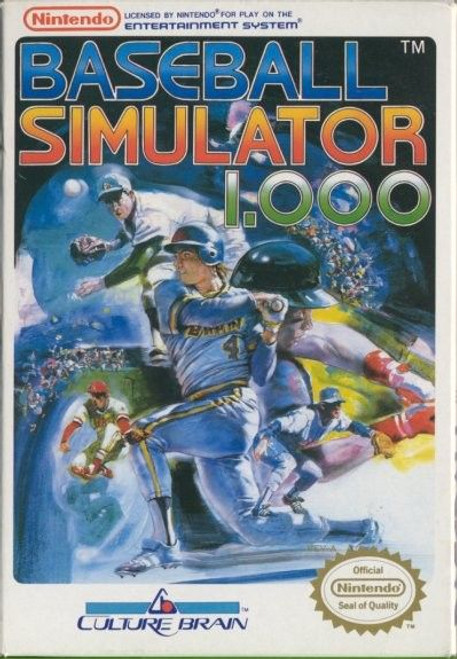 Baseball Simulator 1000 (NES)