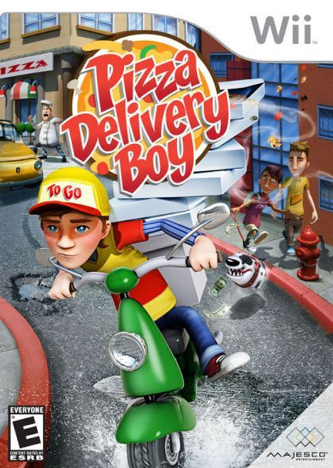 Pizza Delivery Boy (Wii)