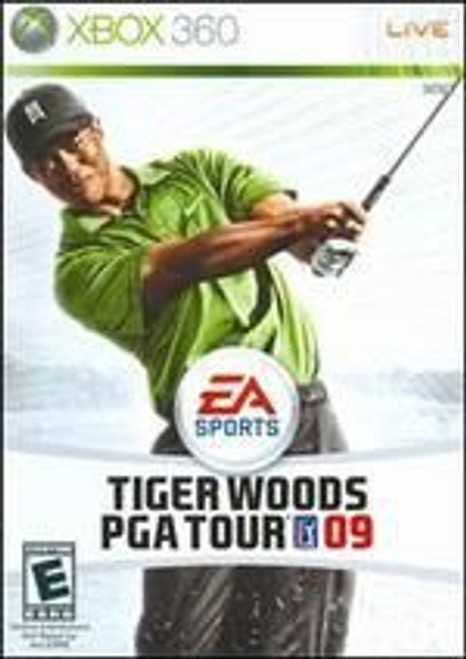 09 Tiger Woods PGA Tour (Xbox 360)