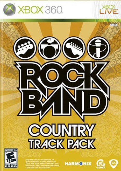 Rock Band Country Track Pack (Xbox 360)