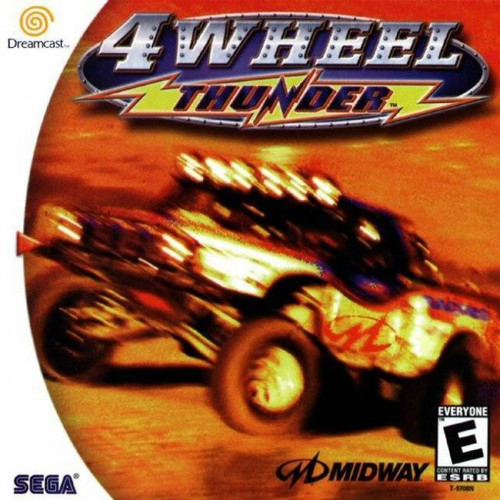 4 Wheel Thunder with Manual (Dreamcast)